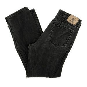 Wrangler Jeans Straight Relaxed Denim Black 34x34